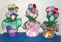 Enfeites com tulipas