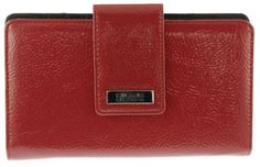 Kenneth Cole Reaction 194534-701 (AP) Crinkled Patent Utility Clutch (Red) - http://todays-shopping.xyz/2016/08/02/kenneth-cole-reaction-194534-701-ap-crinkled-patent-utility-clutch-red/