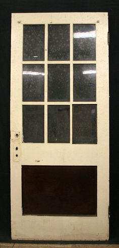 36x84 Antique Exterior Entry Birch Wood Door by PennAntiqueRestore