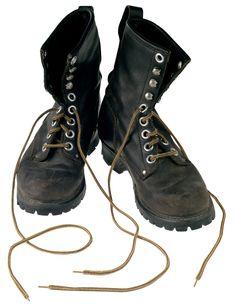 Cómo darle a unas botas una apariencia vintage