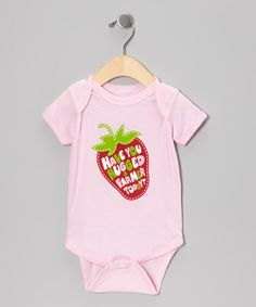 Take a look at this Light Pink 'Have You Hugged a Farmer Today?' Bodysuit - Infant by International Harvester on #zulily today!