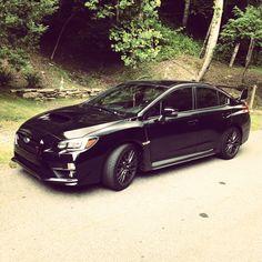 2015 Black Subaru STi so nice maybe my favorite model yet