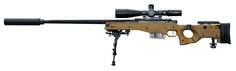 The Accuracy International AWM (Arctic Warfare Magnum) is a bolt-action sniper rifle manufactured by Accuracy International designed for magnum rifle cartridge chamberings. The Accuracy International AWM is also unofficially known as the AWSM (Arctic Warfare Super Magnum), which typically denotes AWM rifles chambered in .338 Lapua Magnum. Above: British Armed Forces AWM 338, designated L115A3
