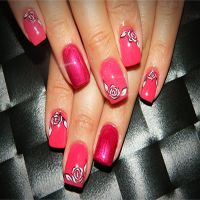 Unghii false si nail art