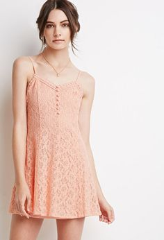 Crochet Lace Cami Dress | Forever 21 - 2000112314