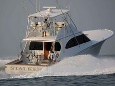 Best Sportfishing Boats of All Time, Offshore Fishing Boats Deep Sea Fishing Boats, Sport Fishing Boats, Hatteras Yachts, Fishing Yachts, Offshore Boats, Offshore Fishing, Whitewater Kayaking, Canoeing, Canoe Trip