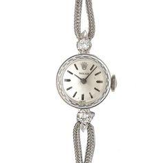 Rolex 【R's】ロレックス14KWGダイヤラウンド1960年代アンティーク 時計 Watch Antique ¥298000yen 〆05月15日