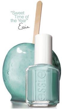Essie Mint Candy Apple I love this color! It's the perfect mint not too blue or green it's my all time favorite winter color
