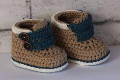 "CROCHET PATTERN - ""Cairo boots"" baby boys booties crochet pattern, infant crochet shoes English Language Only Crochet Boots Pattern, Boy Crochet Patterns, Crochet Baby Boots, Baby Shoes Pattern, Booties Crochet, Crochet For Boys, Crochet Shoes, Baby Patterns, Converse En Crochet"
