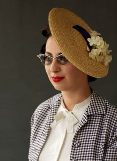 d2688de5 Goodwood Revival 2013 Womens Fashions Vintage Street Fashion, Retro  Fashion, 1950s Hats, 1940s
