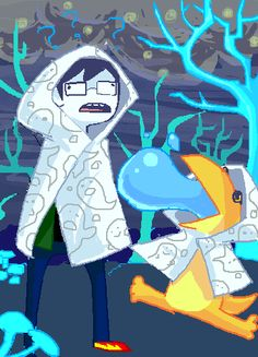 "retrodynamics: ""Behold Robes Y/N? Comic Link, Homestuck Characters, Demon Days, Home Stuck, Davekat, Man Birthday, Aesthetic Pictures, Homestuck John, Cool Art"
