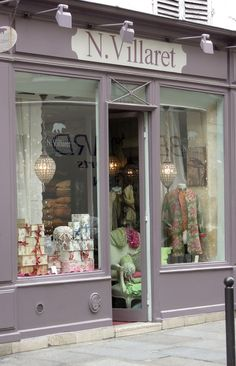 N. Villaret Boutique, St. Germain, Paris ᘡղbᘠ