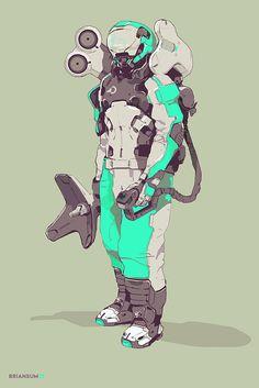 Surveyor, Brian Sum on ArtStation at https://www.artstation.com/artwork/OVA4J