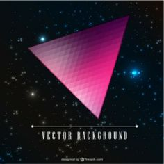 Triangle vector galaxy design