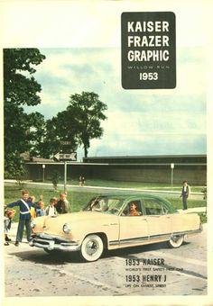 1953 Kaiser Manhattan Four Door Sedan