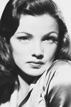 So, how tough are you babe? Gene Tierney