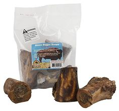 Great Dog Bison Bigger Bones3 Count Bag Sourced  Made in USA -- Details can be found by clicking on the image. (This is an affiliate link)