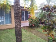 Great green area in the front yard for camping even, inside the beach house at Jaco for rent or for our Fratenity meetings, all like minded, busy people willing to pay a membership for getting mentor's help to make more money with our extra time