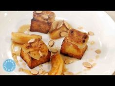 Serve a restaurant-style brunch at home with this recipe for brioche French toast topped with a nutty frangipane. Recipe: http://www.marthastewart.com/859920...