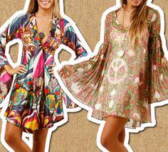 Vestidos de fiesta de los 70 y 80