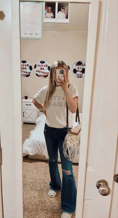Cute Cowgirl Outfits, Rodeo Outfits, Lazy Day Outfits, Cute Outfits For School, Cute Comfy Outfits, Mom Outfits, Western Outfits, Trendy Outfits, Fashion Outfits