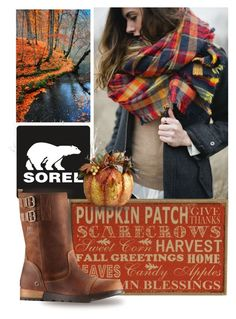 Autumn Sorel by queenofsienna on Polyvore featuring moda, SOREL and sorelstyle