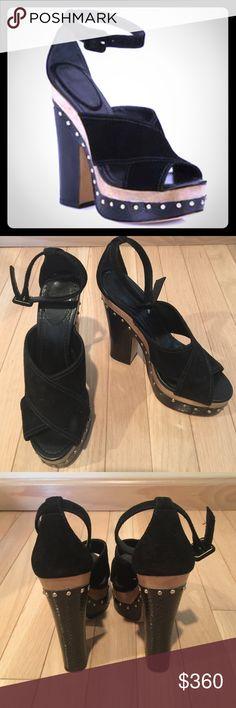 Alexandre Birman Peggy suede watersnake platform Alexandre Birman Peggy suede watersnake platform clog sandal -adjustable strap - excellent condition - 🚫no trades🚫 alexandre birman Shoes