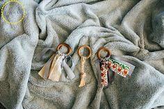 soothing diy wooden baby teething rings, crafts