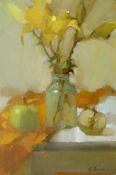 Natalie Hirschman (South Africa) ~ 'Yellow Lillies'