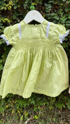 This beauty is available in tea green and peach cotton with smocking detail. Simple smocking on the chest with short sleeves and double layered cotton make the dress a practical yet adorable wardrobe piece. Little Babies, Cute Babies, Cute Baby Clothes, Baby Shop, Baby Patterns, Cotton Dresses, Dress Collection, Baby Dress, Smocking