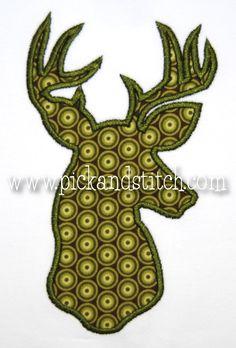 Deer Silhouette Applique