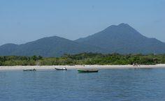 Praia do Parque Estadual da Ilha do Cardoso, Cananéia (SP)