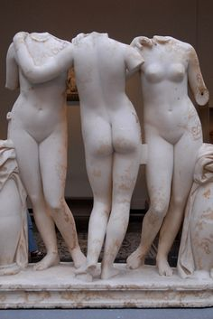 The Three Graces ca. 300 BCE; The Metropolitan Museum of Art. New York, NY