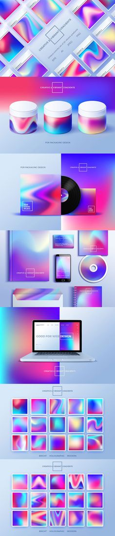 #Freebies : This creative #colorful set of 30 vivid #abstract gradients will be ideal for modern #designs. You can use it in a different #illustration, as overlays on photos, in #creative #typography, in poster designs, #Webdesign, mobile #apps or #websites, etc.