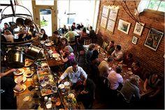 Le Pigeon Restaurant.   738 E Burnside St  Portland, OR 97214  (503) 546 - 8796