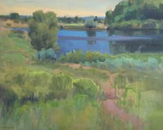 Painting of the week Ian Roberts Summer at the...