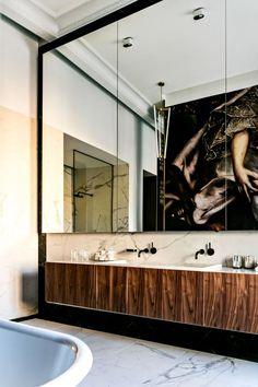 #Ana Moussinet Interior Design # Bathroom M Gallery Odessa