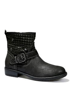 Rockige Boots in Antic Nappa-Optik im s.Oliver Online Shop