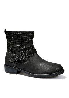 Rockige Boots in Antic Nappa-Optik im s.Oliver Online Shop