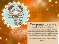 Cette carte horoscope vous plaît ? Pour l'envoyer à vos amis, ça se passe par là-bas http://www.starbox.com/carte-virtuelle/carte-horoscope/carte-horoscope-scorpion ! :)