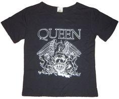 Queen band logo retro punk girly top/t-shirt S-M women's rock music concert cotton Rock T Shirts, Band Shirts, Concert Outfit Rock, Queen Rock Band, Retro Band, Rock Band Logos, Retro Logos, Printed Tees, Cute Outfits
