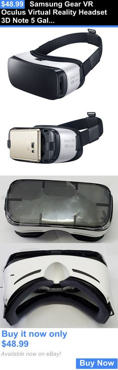 Smartphone VR Headsets: Samsung Gear Vr Oculus Virtual Reality Headset 3D Note 5 Galaxy S6, S6 Edge S7 BUY IT NOW ONLY: $48.99