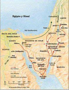 Mapas del Antiguo Testamento