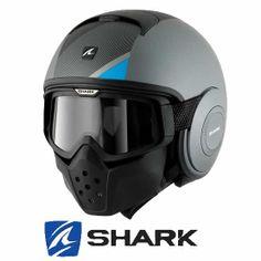 SHARK Raw Michalak Helmet - Matt Silver Black http://www.getgeared.co.uk/shark_helmets_raw_michalak_mat_silver_black?leadsource=ggs1406&utm_campaign=ggs1406 £229.99