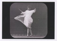 Woman dancing, c.1887. Photograph by Eadweard Muybridge