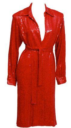 Shirtdress  Halston, 1970s