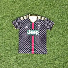 96996ec8f Juventus X Gucci 2019 Special Jersey Black Personalized Name and Number –  zorrojersey