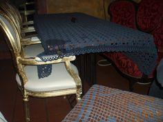 Decoração de mesas.  Num restaurante em Praga, República Checa.