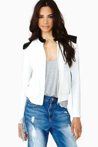 Dusted Bomber Jacket in Clothes Outerwear at Nasty Gal