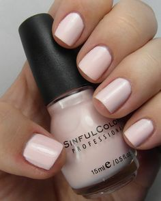 My favorite nailpolish color ever!! Sinful Colors - Easy Going